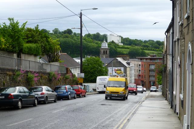 View down Summerhill