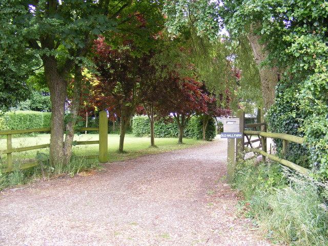 Entrance to Old Hall Farm