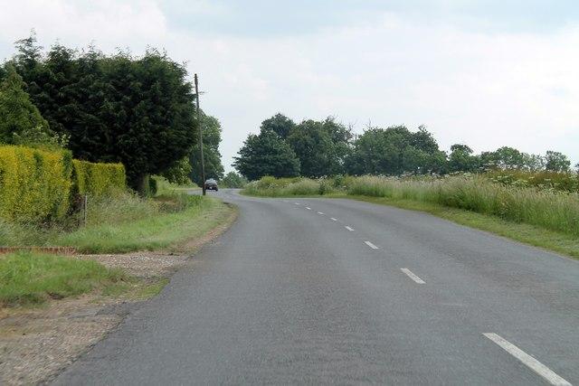 B1183 past Loxley Farm