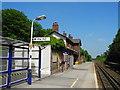 SJ6071 : Cuddington Railway Station (1) by John Topping