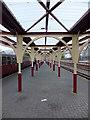 SH6945 : Platform at Blaenau Ffestiniog by Richard Hoare