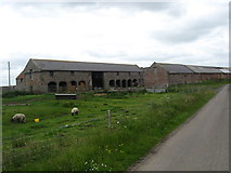 NU0545 : Farm buildings at Goswick by James Denham