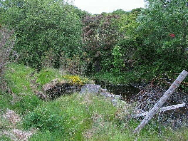 Bridge Out on the Cefnbrynbrain cyclepath