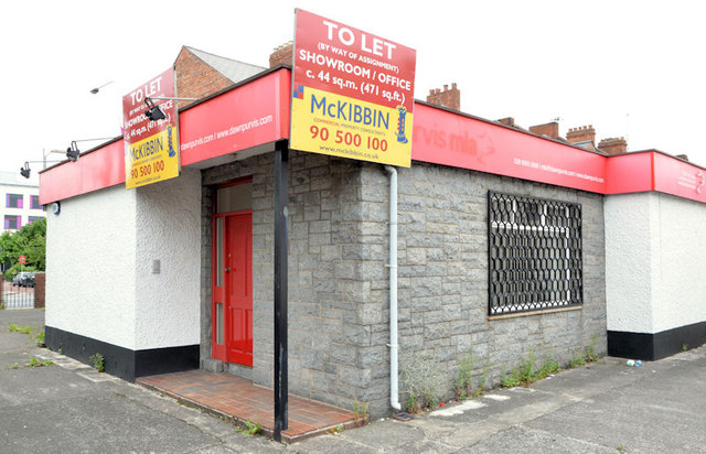 Vacant showroom/office, Belfast