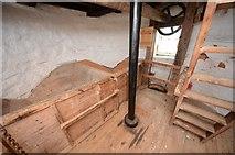 TM1678 : Billingford Mill - Bin floor by Ashley Dace