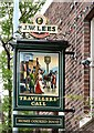 SJ9191 : Sign for the Travellers' Call by Gerald England