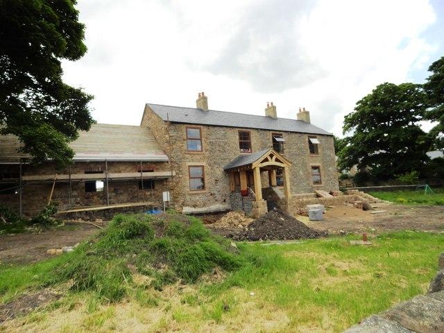 Farmhouse renovation, Old Cassop