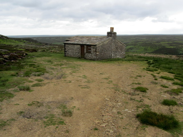 Shooting Hut on Caldbergh Moor, Northern Aspect
