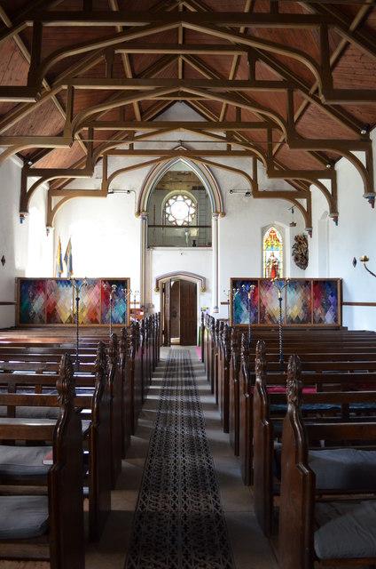 Interior, Christchurch, Kilndown