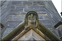 TQ7035 : Carved Head, Christchurch, Kilndown by Julian P Guffogg
