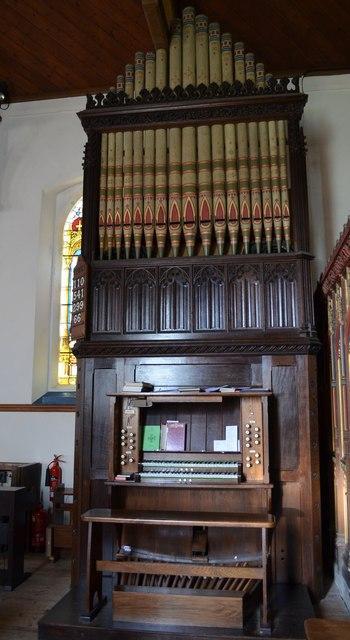Organ, Christchurch, Kilndown