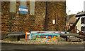 NY0336 : Seat in mosaic, Maryport by Julian Osley