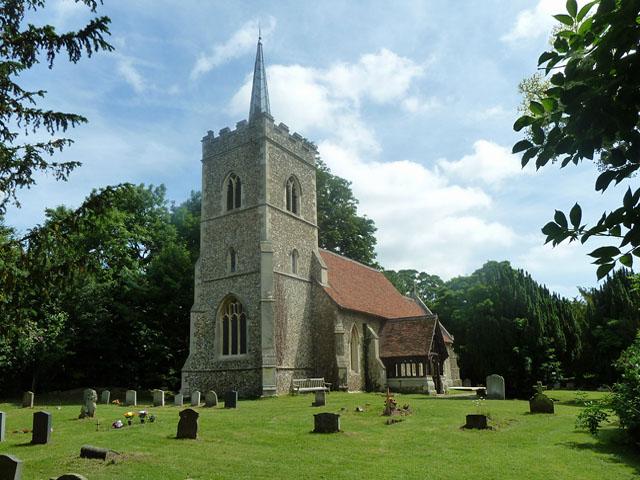 Abbess Roding church