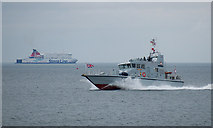 J5082 : HMS 'Raider' in Bangor Bay by Rossographer