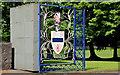 D0902 : School gate, Ballymena by Albert Bridge