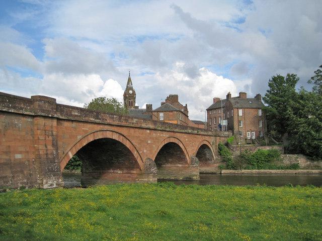 River bridge, Annan