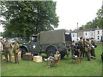 TQ7668 : US Army Truck by David Anstiss