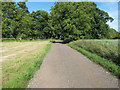 TL6733 : Darielay Farm Track, Finchingfield by Roger Jones