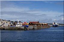 HU4741 : Vessels at Alexandra Wharf, Lerwick by Mike Pennington