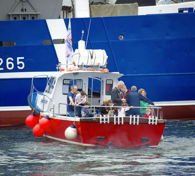 Lifeboat exercise, Bangor harbour