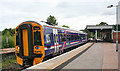 NJ0258 : Forres Station by Anne Burgess