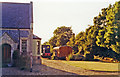 TF8813 : Former Fransham station, with rolling-stock 1991 by Ben Brooksbank