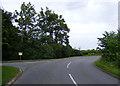 TM4085 : Redisham Road & entrance to Redisham Hall by Adrian Cable
