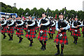 NJ0458 : European Pipe Band Championships 2013 (19) by Anne Burgess