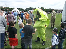TQ7668 : Bomb Disposal Man, Armed Forces Day by David Anstiss