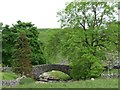 SD8780 : The bridge at Beckermonds by Christine Johnstone