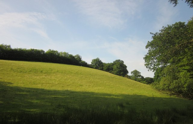 Hillside near Dunsley Farm