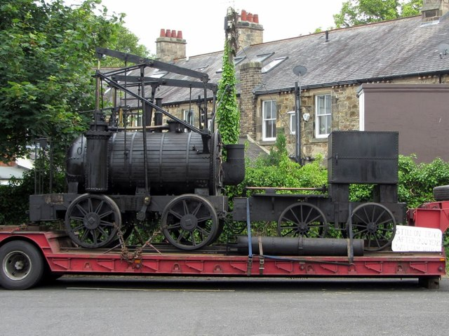 'Puffing Billy' at Wylam