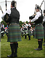 NJ0458 : European Pipe Band Championships 2013 (23) by Anne Burgess