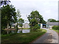 TM3586 : Pond off Englishes Lane at Grove Farm by Adrian Cable