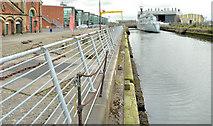 J3576 : The Alexandra Dock, Belfast (2013) by Albert Bridge