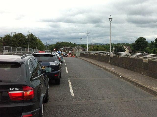 Traffic, Kerse Bridge