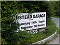 TM3883 : Linstead Garage sign by Adrian Cable