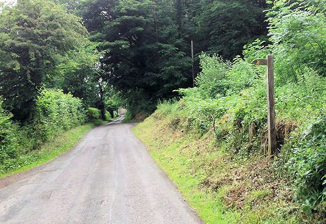 Wern y Wiel at entrance to Pleasant Grove