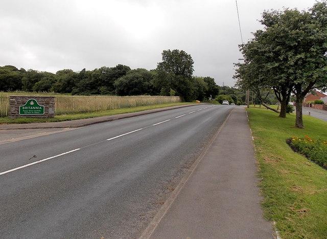 Northern boundary of Britannia