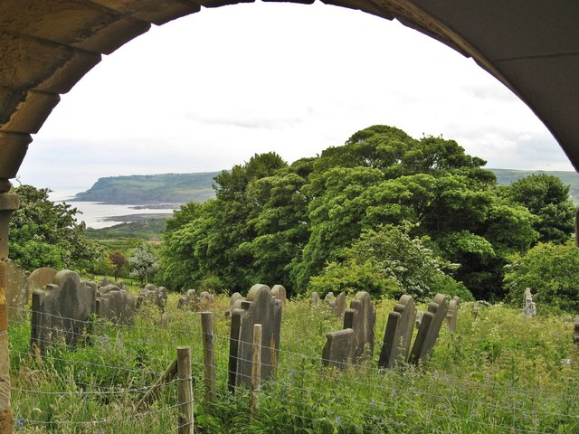 Ravenscar from Old St Stephens Church