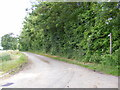 TM3684 : Entrance & footpath to Rookery Farm by Adrian Cable