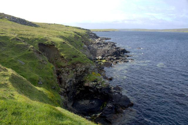 Coast north of Brei Geo, Snabrough
