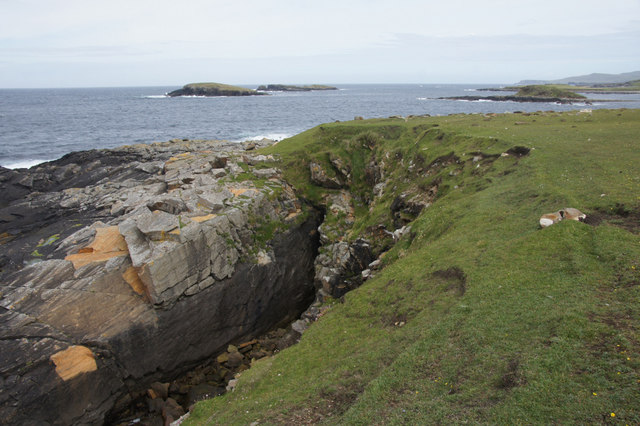 The Westing holms from Houllnan Ness