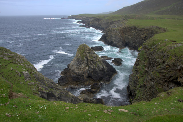 Coast between Ness of Collaster and Bogligarths, Westing