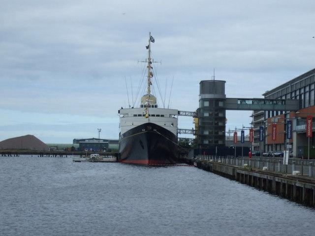 Royal Yacht Britannia, Port of Leith