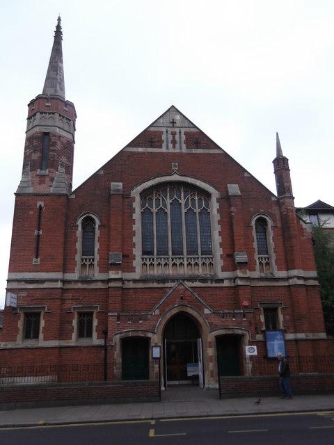 Willesden Green Baptist Church, High Road NW10