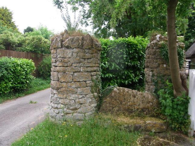 Old stone stile, Southam