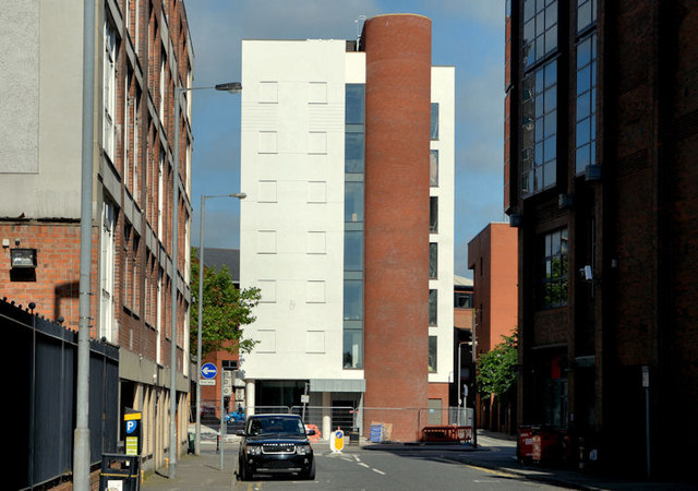 Hotel site, Dublin Road, Belfast (2013-10)