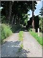 SE0935 : Footpath - Lane Side by Betty Longbottom