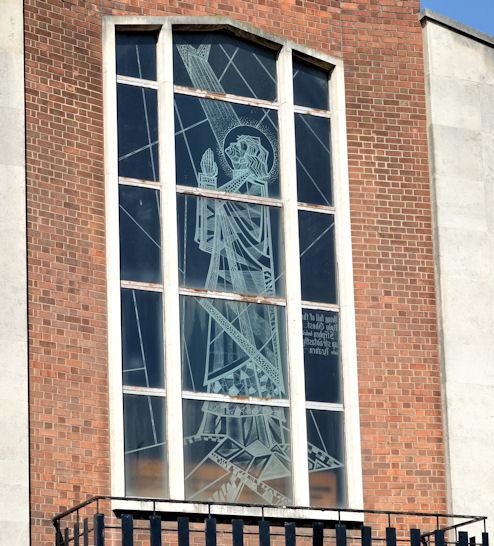 Window, St Stephen's, Millfield, Belfast (1)
